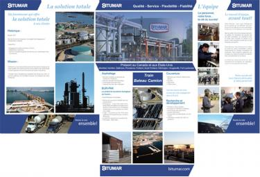 Bitumar - Pochette d'entreprise